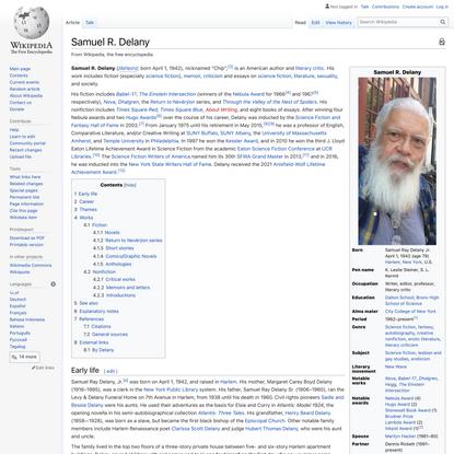 Samuel R. Delany - Wikipedia