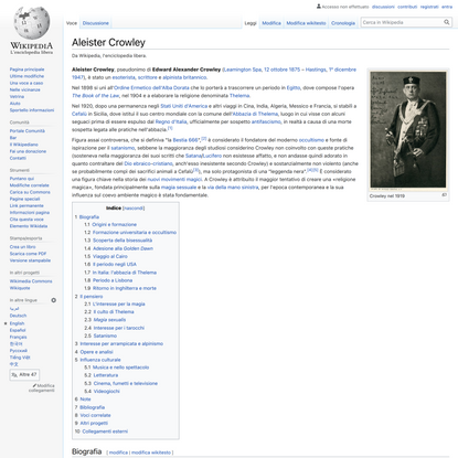 Aleister Crowley - Wikipedia