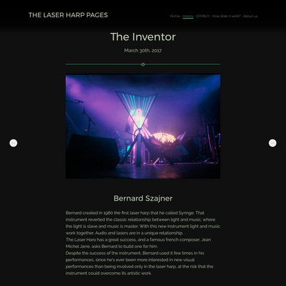 LASER HARP FREE PROJECTS