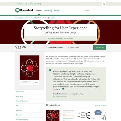 Storytelling for User Experience - Rosenfeld Media
