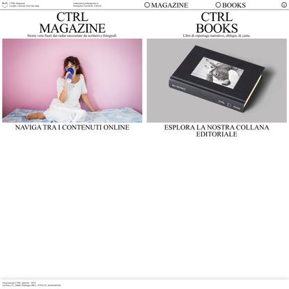 CTRL Magazine - CTRL Magazine