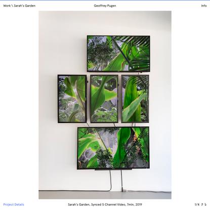 Sarah's Garden – Geoffrey Pugen