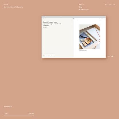 Hatch – London E-Commerce Shopify Experts