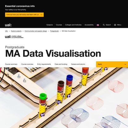 MA Data Visualisation