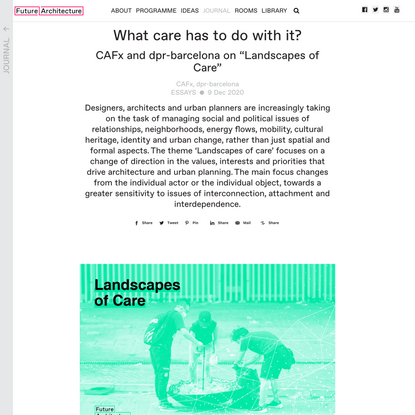 What care has to do with it?