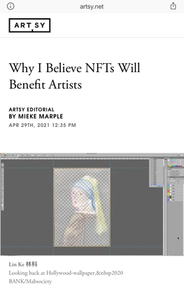 Why I Believe NFTs Will Benefit Artists
