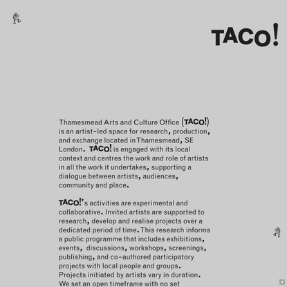 About Us... — TACO!
