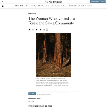 The Woman Who Looked at a Forest and Saw a Community