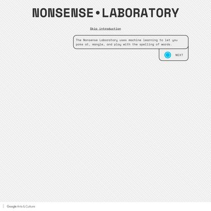 Nonsense Laboratory