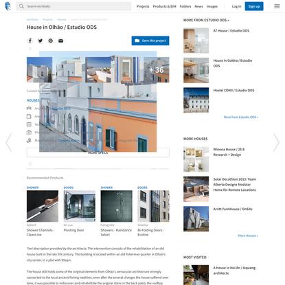 House in Olhão / Estudio ODS