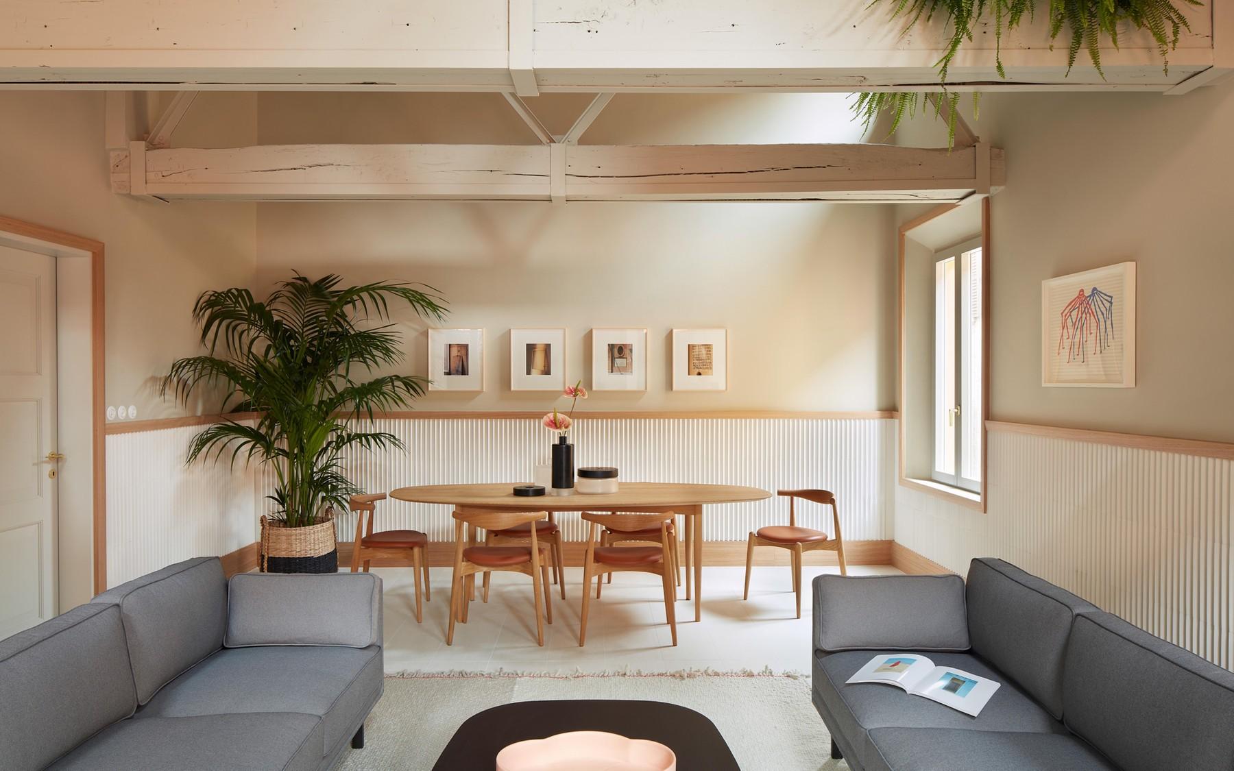 Casa Mutina, Modena, Italy (designed by OEO Studio and Mutina Product Division)