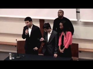 Kanye West speaks to The Oxford Guild