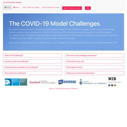 Covid Mortality Models