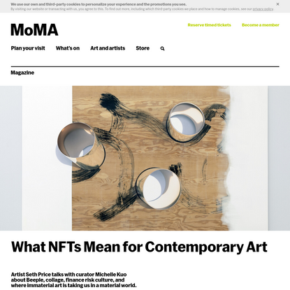 What NFTs Mean for Contemporary Art   Magazine   MoMA
