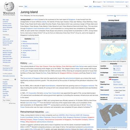 Jurong Island - Wikipedia