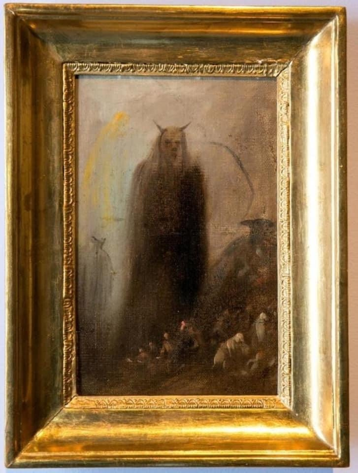 Francisco Goya Ghostly Vision