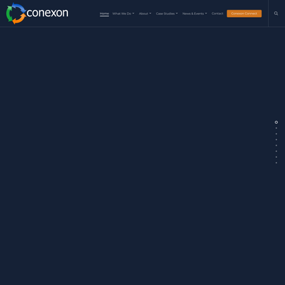 Conexon | Bringing Fiber to Rural Communities