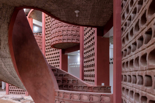 Maternity and Paediatric Hospital in Tambacounda, Senegal (designed by Manuel Herz Architects)