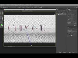Brutal Chrome Text Effect