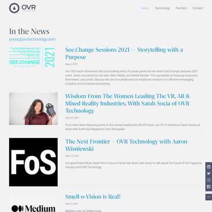 News - OVR Technology