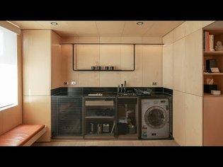 This Minimalist 29m2 Micro Apartment Feels Like An Urban Cabin - Simple Dwelling Ep02