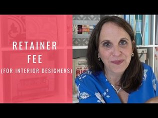 Retainer Fee Interior Design - How Much Money Should You Get Up Front?