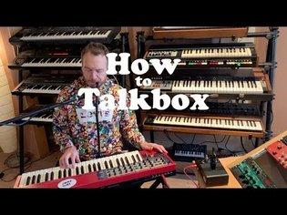 Lorenz Rhode - How to Talkbox
