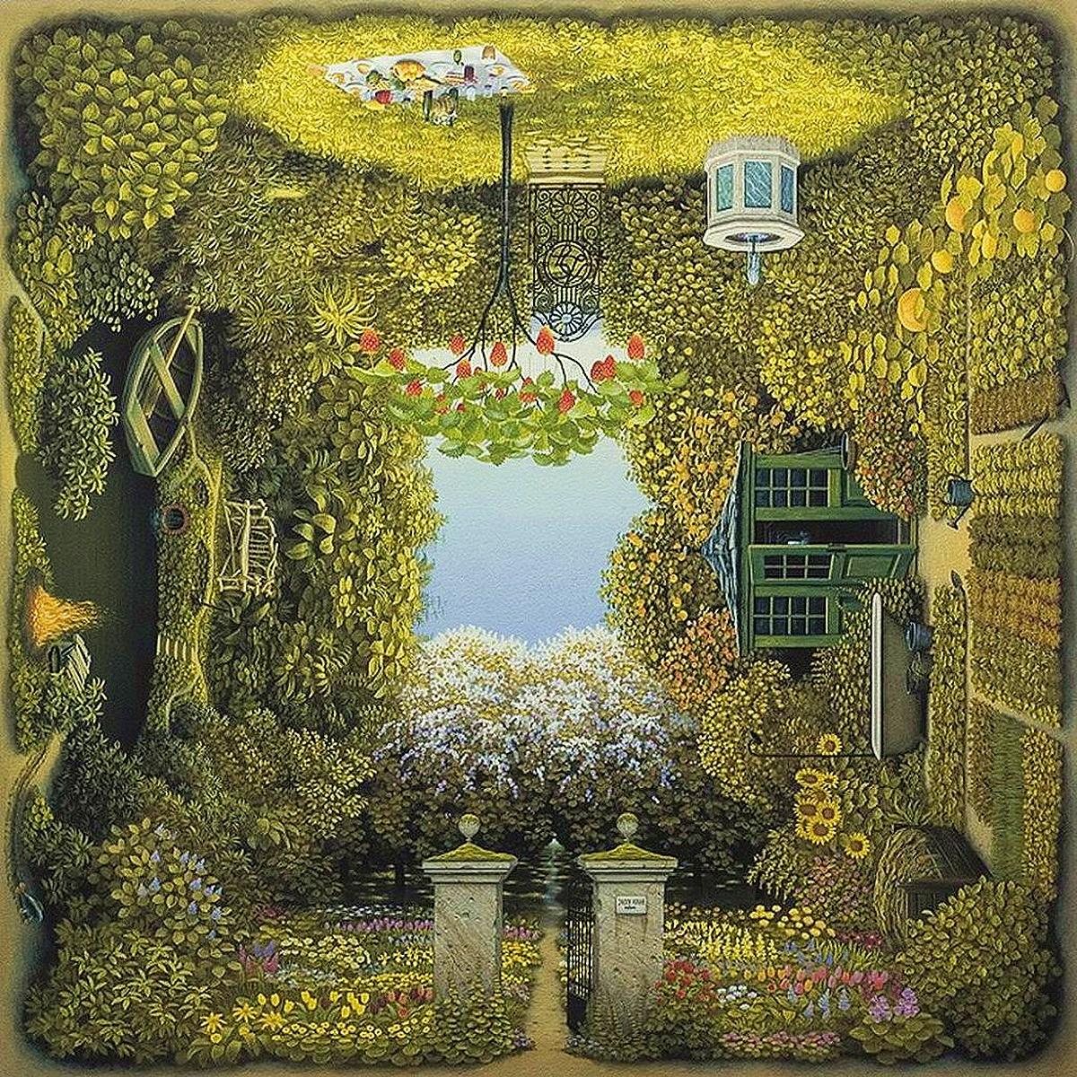 Gardener's Garden - Jacek Yerka