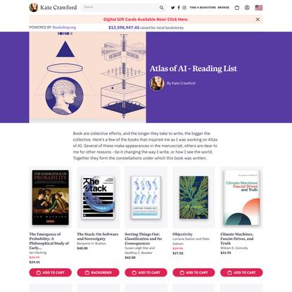 Atlas of AI - Reading List