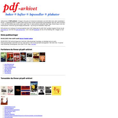 www.pdf-arkivet.no