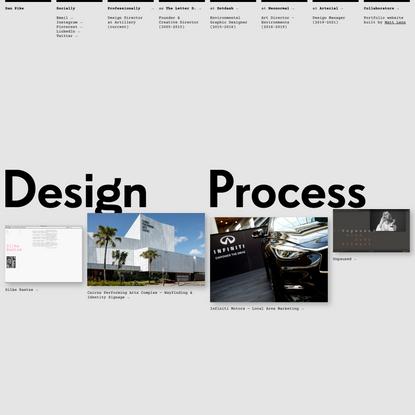 Dan Pike   Design Portfolio