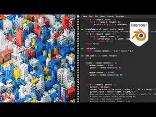 Artistic Coding in Blender by David Mignot