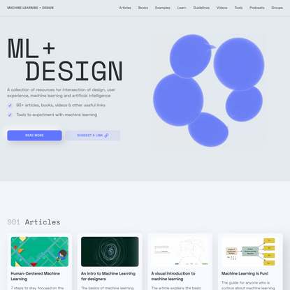 Machine Learning + Design