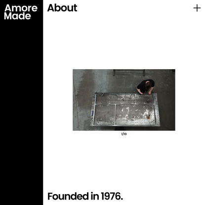 About | Amore Made