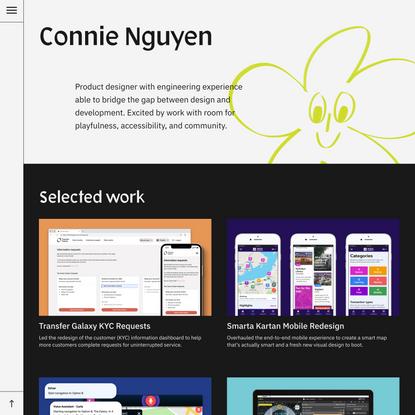 Connie Nguyen ― Product Designer