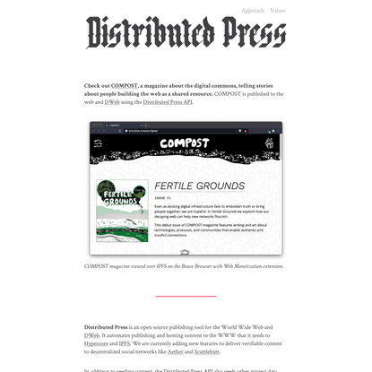 Distributed Press