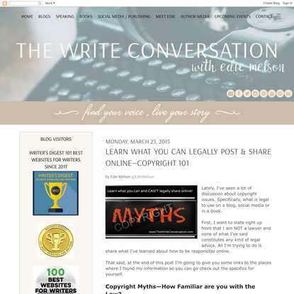Learn What You Can Legally Post & Share Online—Copyright 101