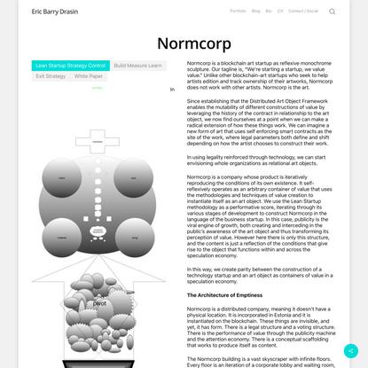 Normcorp – Eric Barry Drasin