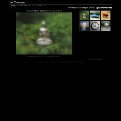 Jim Campbell: Portfolio: Still Image Works: Dynamism Series