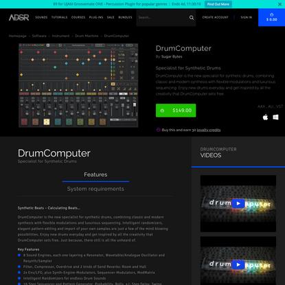 DrumComputer - ADSR Sounds