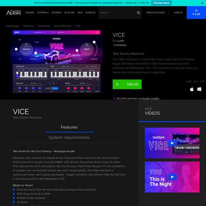 VICE - ADSR Sounds