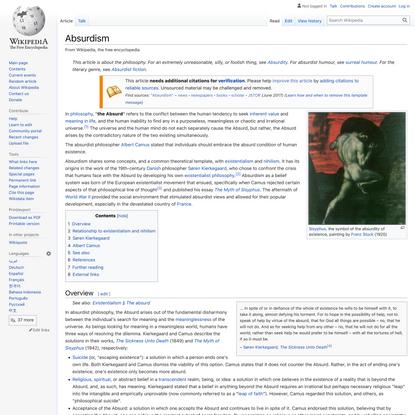 Absurdism - Wikipedia