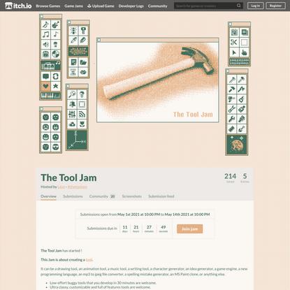 The Tool Jam