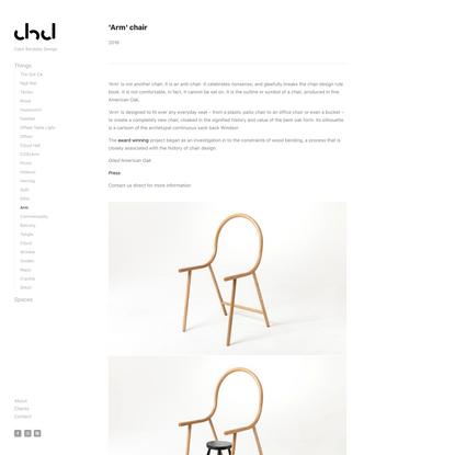 Arm — Clark Bardsley Design