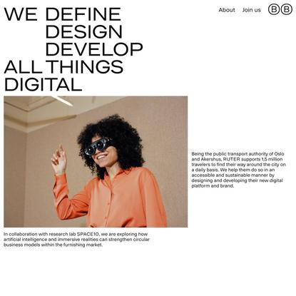 Bakken & Bæck   A technology-driven design studio