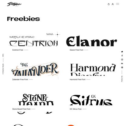 Freebies – Dirtyline Studio