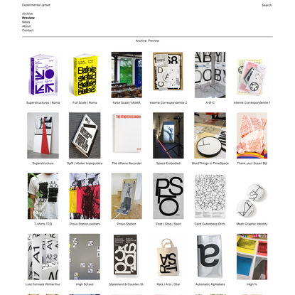 Experimental Jetset - Preview
