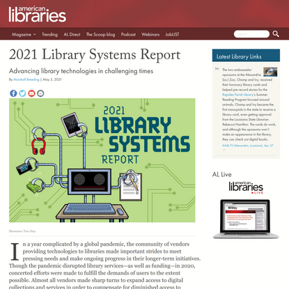 2021 Library Systems Report | American Libraries Magazine