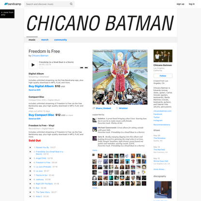 Freedom Is Free, by Chicano Batman