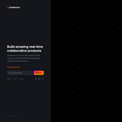 Build amazing real-time collaborative products